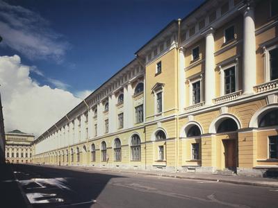 Architect Rossi Street in Saint Petersburg, 1828-1832