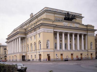 The Alexandrinsky Theatre in Saint Petersburg, 1828-1832