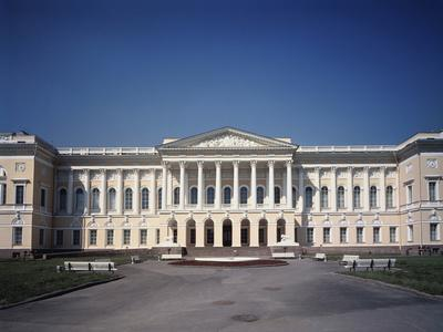 The Old Michael Palace in St. Petersburg, 1819-1825