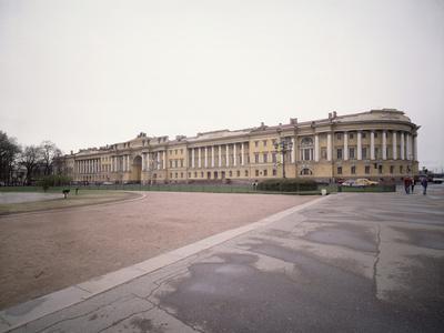 The Senate and Synod Buildings in Saint Petersburg, 1829-1834