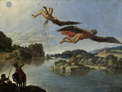 The Fall of Icarus by Carlo Saraceni