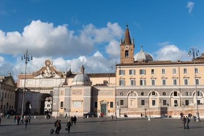 The Basilica of Santa Maria Del Popolo