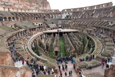 The Colosseum, UNESCO World Heritage Site, Rome, Lazio, Italy, Europe