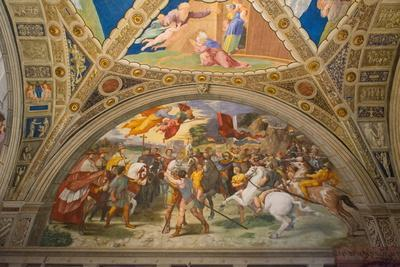 The Meeting of Leo I and Attila by Raphael
