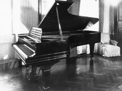 Steinway and Sons Piano in a Room by Carlo Wulz