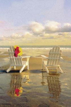 Chairs on the Beach by Carlos Casamayor