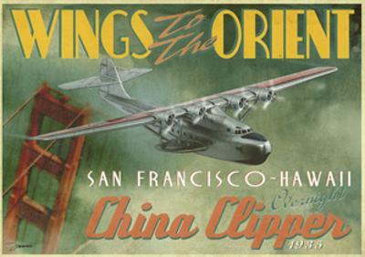 China Clipper by Carlos Casamayor