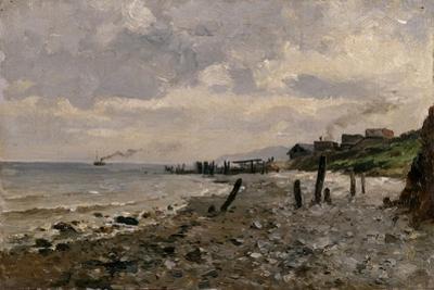 Costa de Villerville, 1877-1884 by Carlos de Haes