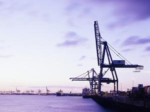 Container Cranes by Carlos Dominguez
