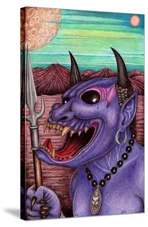 Purple Demon by Carlos Fox Lopez
