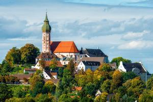 Benedictine Abbey of Andechs by Carlos Malvar