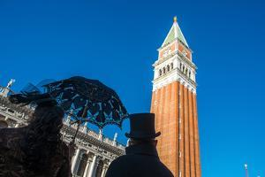 San Mark?S Square During the Venice Carnival, Italy by Carlos Sanchez Pereyra