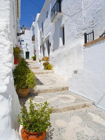Town of Frigiliana, White Town in Andalusia, Spain