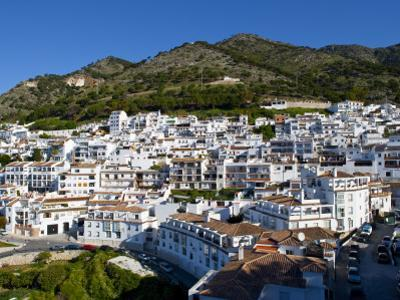 View of Mijas, White Town in Costa Del Sol, Andalusia, Spain