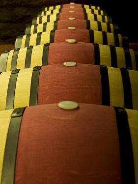 Wine Celler in Catalonia, Spain by Carlos Sanchez Pereyra