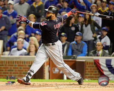 Carlos Santana Home Run Game 4 of the 2016 World Series