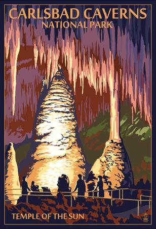 Carlsbad Caverns National Park, New Mexico - Temple of the Sun
