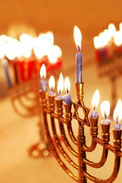 Hanukkah Candles by Carly Hennigan