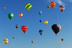 Hot Air Balloons by Carly Hennigan