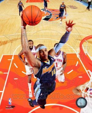 Carmelo Anthony 2010-11 Action