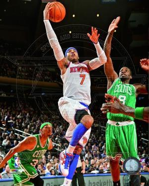 Carmelo Anthony 2012-13 Playoff Action
