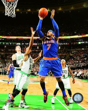 Carmelo Anthony 2015-16 Action