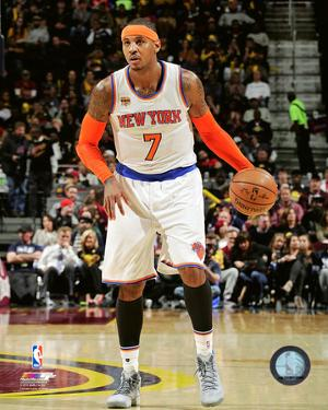 Carmelo Anthony 2016-17 Action