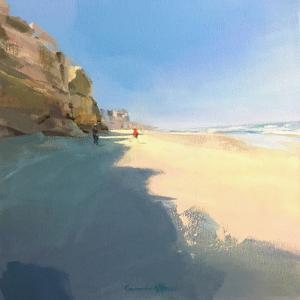 Obidos Beach by Carmen Merino