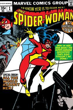 Spider-Woman No.1 Cover: Spider Woman by Carmine Infantino