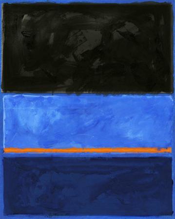 Black and Tangerine by Carmine Thorner
