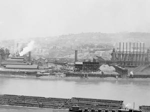 Carnegie Blast Furnaces, Homestead, Pa.