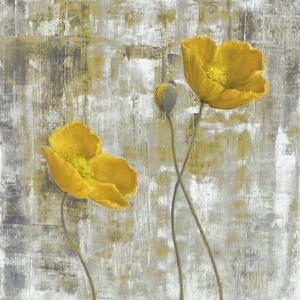 Yellow Flowers I by Carol Black
