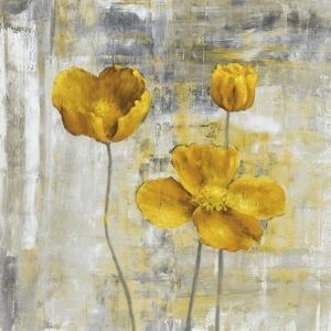 Yellow Flowers II by Carol Black