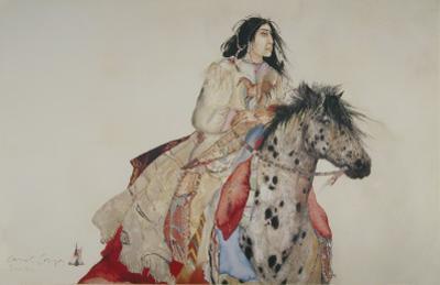 Brave Horse by Carol Grigg