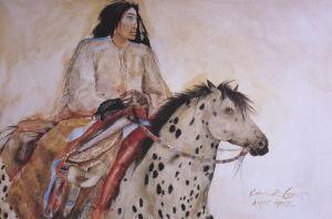 Light Horse by Carol Grigg