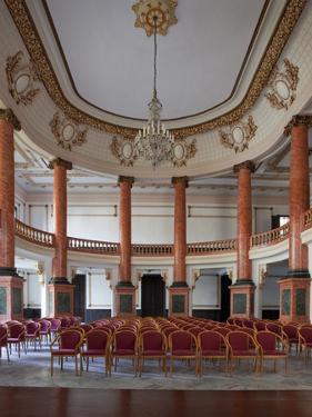 Ballroom in the Camara De Representantes by Carol Highsmith