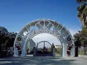 Entrance Arch to Louis Armstrong Park by Carol Highsmith