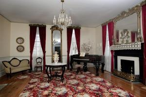 First Parlor In The First White House Of The Confederacy, Montgomery, Alabama by Carol Highsmith