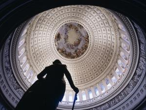 Interior Rotunda US Capitol Building by Carol Highsmith