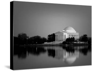 Jefferson Memorial, Washington, D.C. Number 2 - Black and White Variant by Carol Highsmith