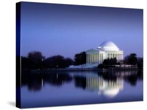 Jefferson Memorial, Washington, D.C. Number 2 - Vintage Style Photo Tint Variant by Carol Highsmith
