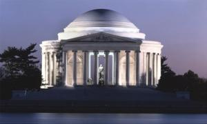 Jefferson Memorial, Washington, D.C. - Vintage Style Photo Tint Variant by Carol Highsmith