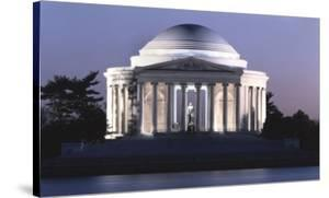 Jefferson Memorial, Washington, D.C. - Vintage Style Photo Tint Variant by Carol Highsmith
