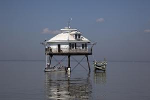 Middle Bay Or Mobile Bay Lighthouse, Mobile Bay, Alabama by Carol Highsmith