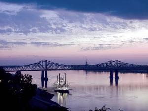 Mississippi River in Natchez, Mississippi by Carol Highsmith