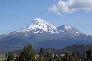 Mount Shasta - Cascade Range - Siskiyou County, California by Carol Highsmith