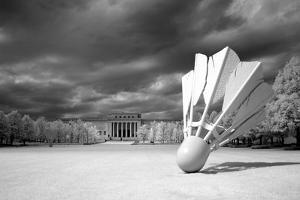Nelson Atkins Art Museum- Sculpture by Claes Oldenburg by Carol Highsmith
