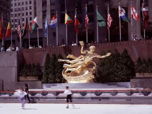 Prometheus Sculpture - Rockefeller Center by Carol Highsmith