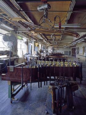 Steinway Manufacturing by Carol Highsmith