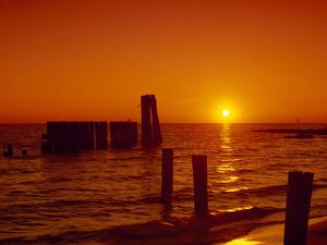 Sunset on Chesapeake Bay by Carol Highsmith